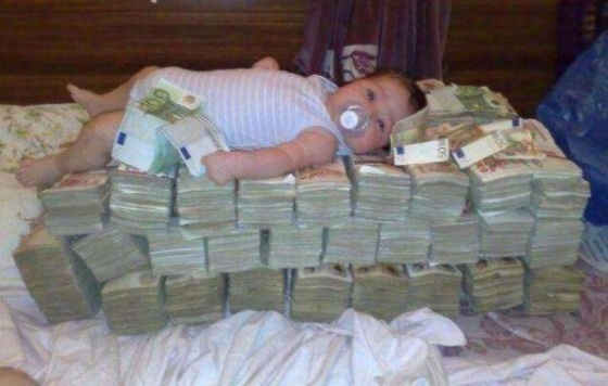 Money baby